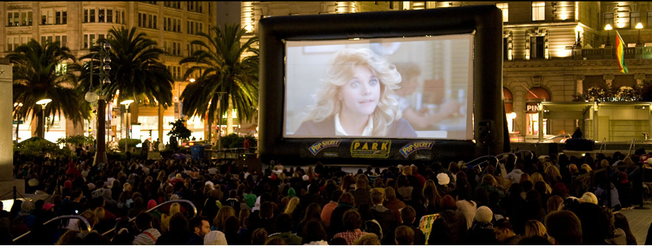 Outdoor Movie Screen Rentals   North Bay   San Francisco   Sacramento